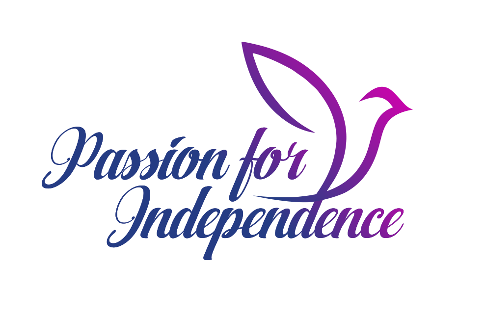 Logo for Passion for Independence.
